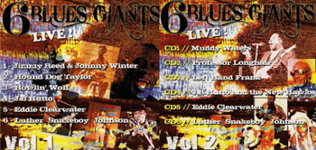 Blues Giants Live! (CD Series)