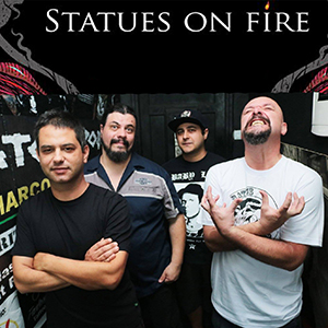 Statues On Fire
